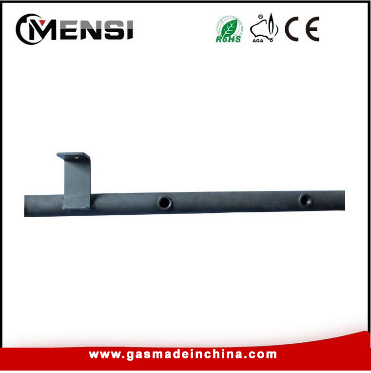 LPG 32mm steel flowdrill manifold pipe for cooking stove ...