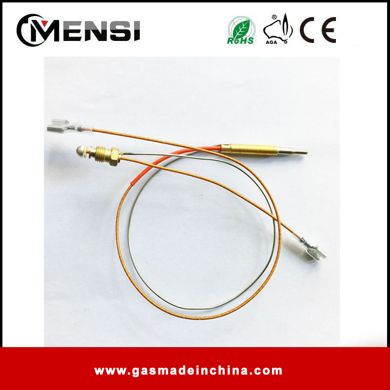 410mm with two nuts thermocouple for gas heater M6X0.75 head size