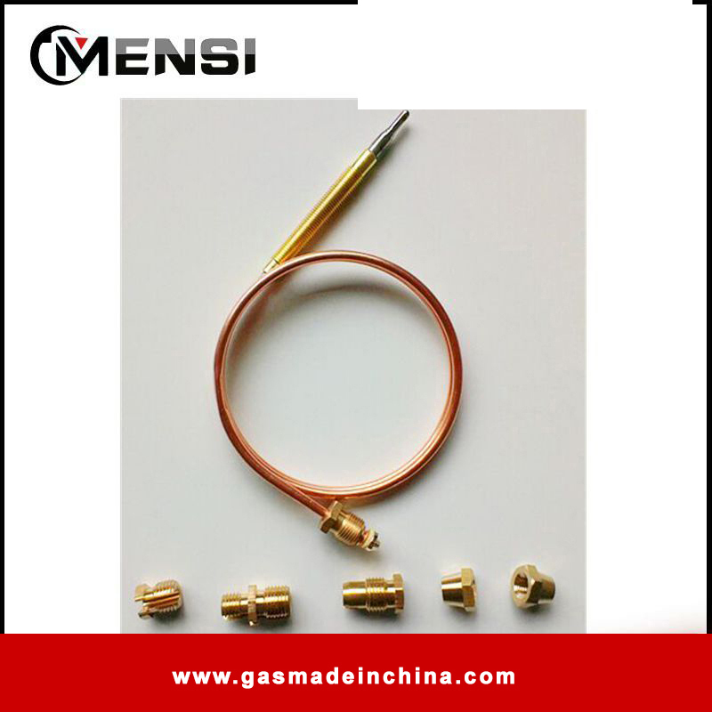 900mm with five nuts gas parts thermocouple gas valve for gas
