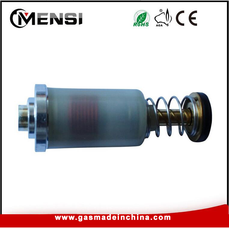 Gas cooker electromagnetic valve