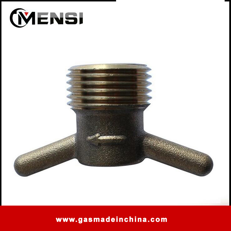 High pressure gas pipe connectors