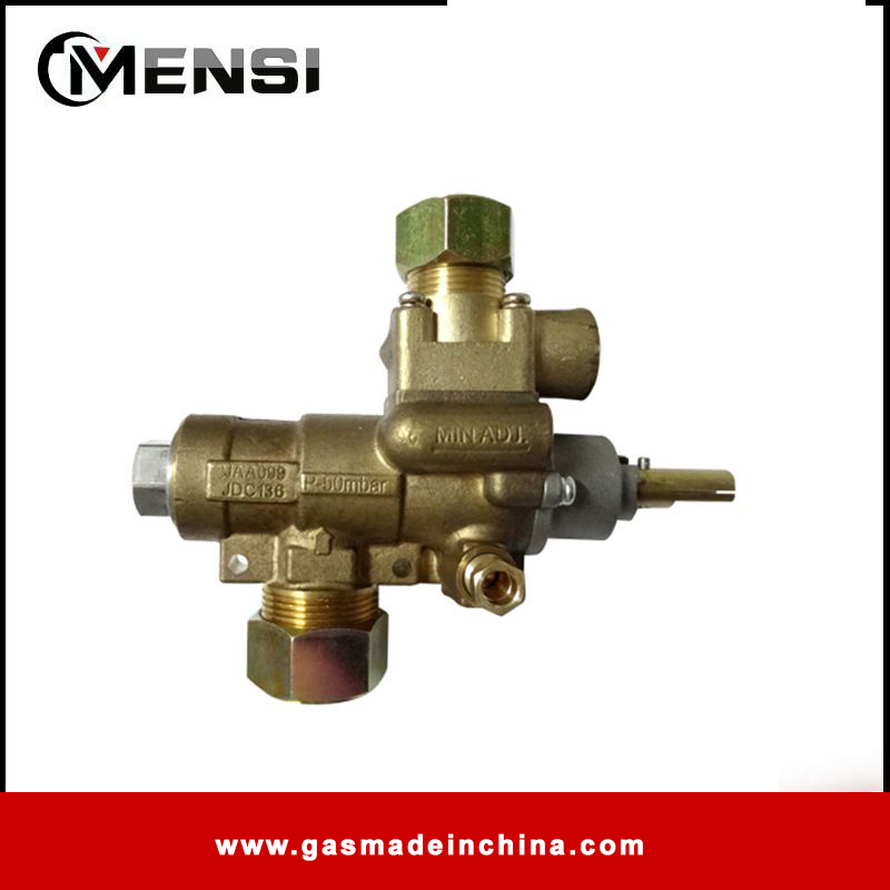 M28 port size brass safety valve with CE/CSA standard for cooking appliance