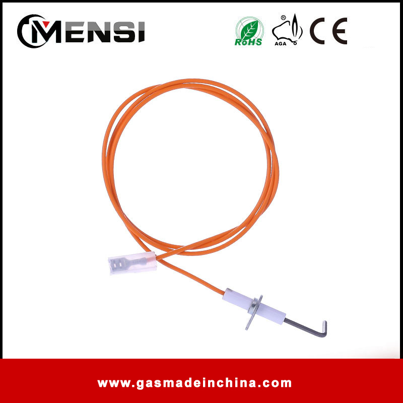 ceramic ignitor spark ignition electrode