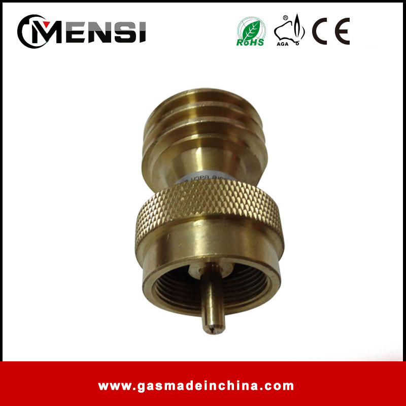 gas grill connector disposable propane cylinder bottle adapter