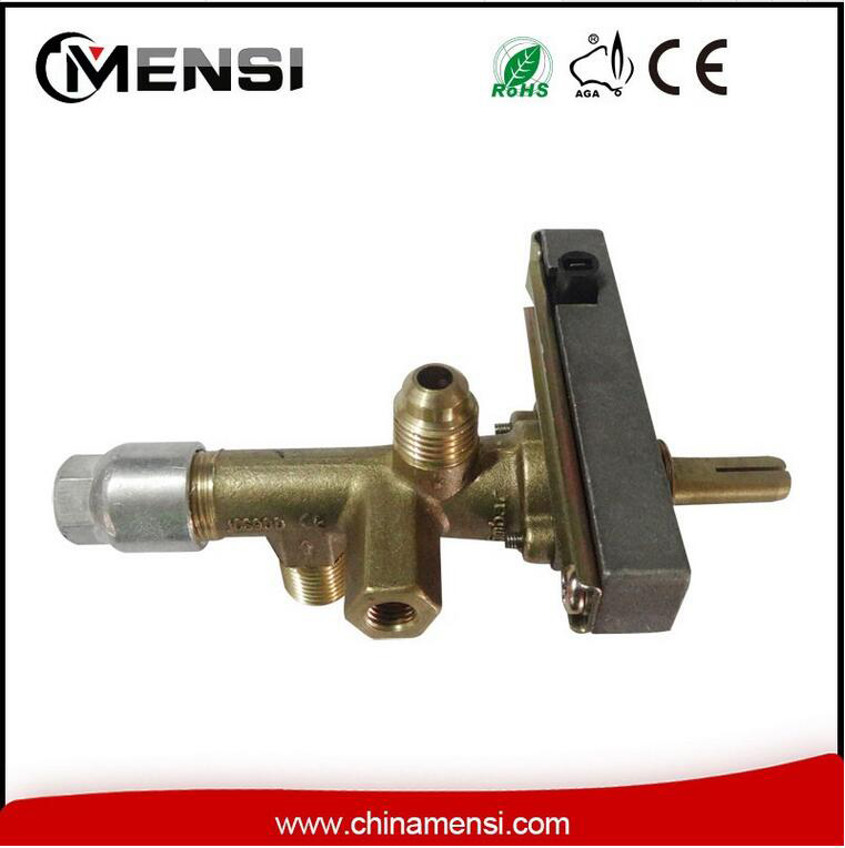 Patio heater valve